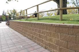 block retaining wall design manual concrete blocks retaining wall