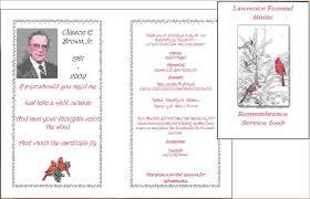 Memorial Program Template 11 Funeral Program Samplesagenda Template Sample Agenda Template