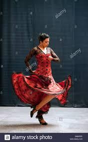 flamenco dancer dancing ballet espanol de cuba havana cuba