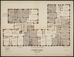 4 floor apartment plan 8 unit apartment building plans