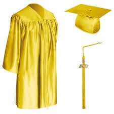 cap gown and tassel gold child graduation cap gown tassel