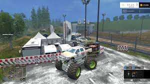 monster trucks jam games monster truck jam v1 0 for fs 2015 farming simulator 2017 2015