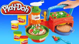 cuisine mcdo jouet toys pâte à modeler la pizzeria play doh en français jouets