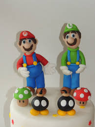 mario cake topper fondant mario bros cake toppers mario luigi toad