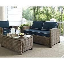 All Weather Wicker Patio Furniture Clearance by Loveseat Charlottetown White All Weather Wicker Patio Loveseat