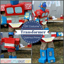 Transformer Halloween Costume Diy Optimus Prime Transformer Costume Brilliant Ideas