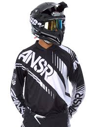answer motocross helmets answer black white 2017 syncron mx jersey answer