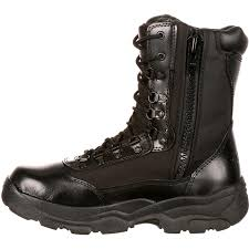 2149 men u0027s fort hood zipper waterproof black duty boot