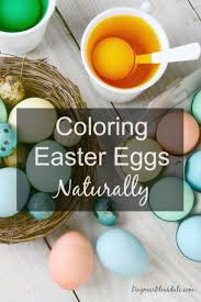 coloring easter eggs naturally and making alien eggs aliens egg