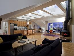 attic loft scandinavian design a modern loft in the attic