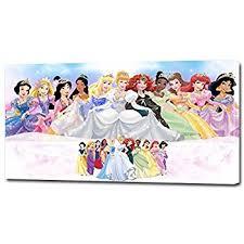 amazon disney princess watercolor prints 8x10