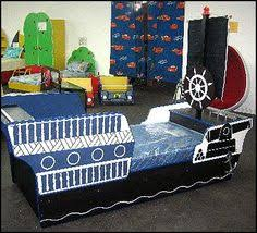 pirate ship theme childrens bed blueprints pirate theme bedroom