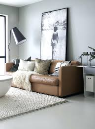 home decor brown leather sofa grey walls brown couch theminamlodge com