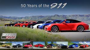 generation porsche 911 50 years of the 911 driving and comparing the generations