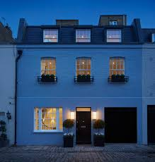 mews house in belgravia transitional exterior london by