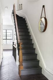 Painted Stairs Design Ideas Best 25 Black Painted Stairs Ideas On Pinterest Black Staircase