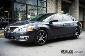 grey nissan altima black rims nissan altima vehicle gallery at butler tires and wheels in