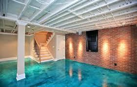 concrete floor paint ideasgood ideas for basement floors covering