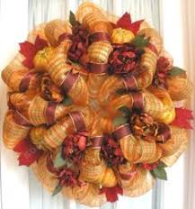 deco mesh wreath pumpkin and apple wreaths home decor swag and