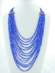 blue beads necklace images Royal blue bead necklace jewelry beads homemade jewelry etsy jpg