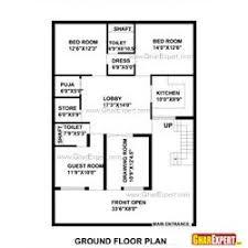 home design for 50 gaj 50 gaj area house layout plan gharexpert com plan 1