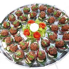 canapes finger food canapé buffetfor 60 food pattaya