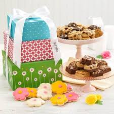 mrs fields gift baskets mrs fields cookie gift tower cookie gifts