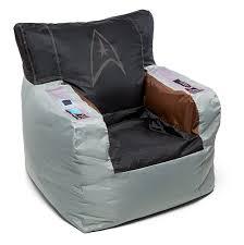 star trek kirk s command chair bean bag cover