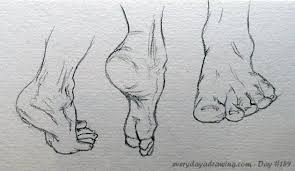 day 159 u2013 some more feet drawings every day a drawing
