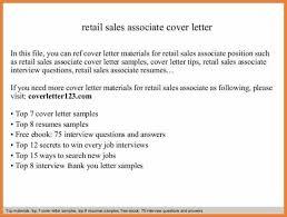 furniture sales associate cover letter