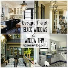 design trend black window trim black window trims black trim