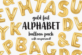 balloon letters gold foil balloon letters clip gold letters balloon