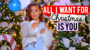 for christmas all i want for christmas is you carey cover niki and