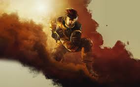 siege orange wallpaper rainbow six siege operation chimera operators
