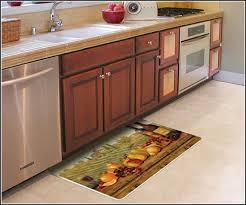 kitchen accessories rubber kitchen floor mats over patterned gray