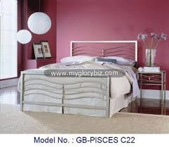 new high class look fashion style stylish metal beds with modern