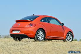 volkswagen orange new 2016 volkswagen beetle 1 4 tsi dsg india review period drama