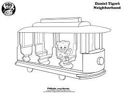 coloring daniel tiger u0027s neighborhood pbs kids 4th of july