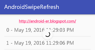 layout android refresh android er swiperefreshlayout refresh in background thread