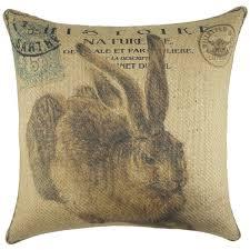 Burlap Decorative Pillows Easter Decorative Pillows You U0027ll Love Wayfair