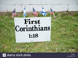 Pensacola Flag Pensacola Florida Usa 27th June 2017 Bible Verse Displayed On