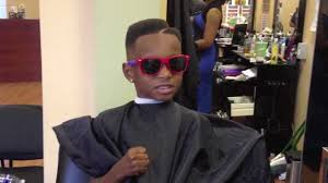 swag hair cut lil boy asks barber to get swag back funny youtube