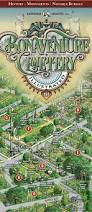 Savannah Ga Map Bonaventure Cemetery Illustrated Map Visit Savannah Ga