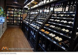 248 bottle wine rack display merchandiser puts bottles at eye
