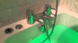 onley whirlpool bath bristan taps homebase youtube