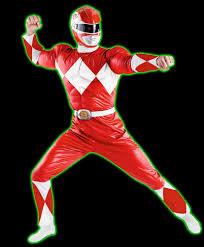 Power Ranger Halloween Costume Halloweentown Store Power Rangers Red Ranger Costume