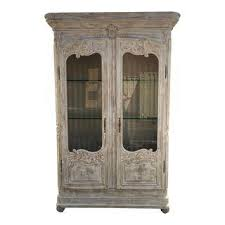 Antique German Display Cabinet Cabinets Unique Pieces Ready To Ship Today Chairish