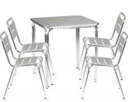 Aluminium Bistro Chairs Ria Aluminium Bistro Set 2 Cafe Reality