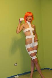 Leeloo Halloween Costume Leeloo Bandage Costume Lee Loo Costume Elem U2026 Flickr