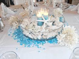 beachy centerpieces creative idea lovely seashell wedding table centerpieces